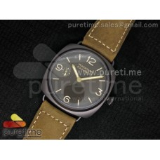 PAM504 O Radiomir Composite ZF 1:1 Best Edition on Brown Asso Strap P.3000
