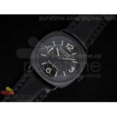 Radiomir Black Seal PVD Black Dial on Black Leather Strap A6497