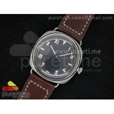PAM448 O SF California Dial on Thick Deep Brown Leather Strap P.3000 Super Clone